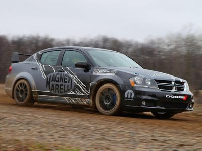 Dodge Avenger rally car от от Mopar. Фото Mopar