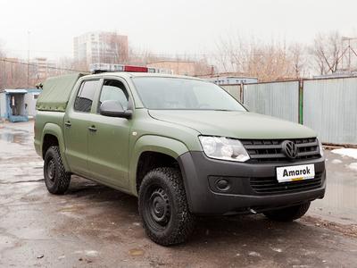Volkswagen Amarok Military. Фото Антона Уханова, Лента.ру