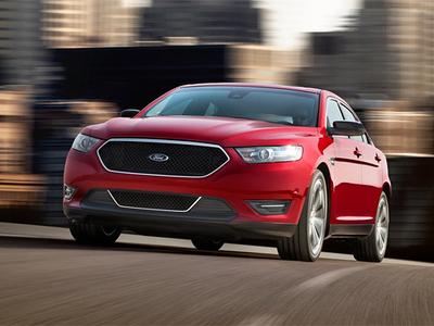 Ford Taurus SHO. Фото Ford