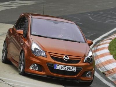 Opel Corsa OPC Nürburgring Edition. Фото Opel