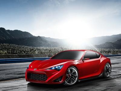 Scion FR-S Concept. Фото Toyota