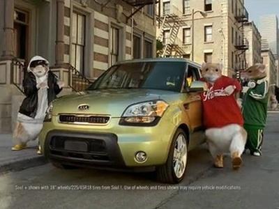 Реклама Kia Soul. Скриншот видео Kia