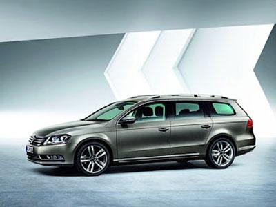 Универсал VW Passat. Фото VW