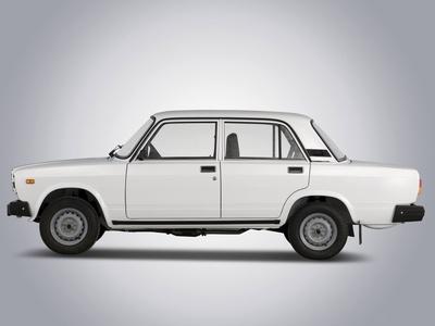 """Lada-2107. Фото """"АвтоВАЗа"""""""