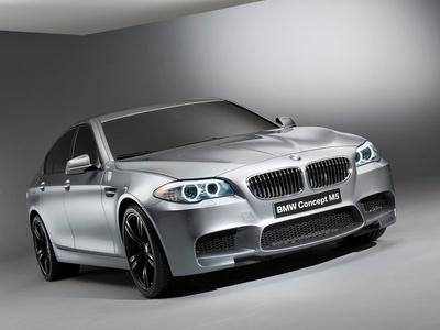 BMW M5 Concept. Фото BMW