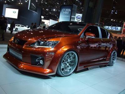 Lexus CT 200h от Fox Marketing. Фото с сайта japancar.ru