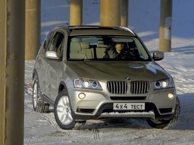 BMW X3. Фото Александре Страхова-Баранова с сайта media.club4x4.ru