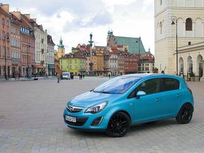 Opel Corsa. Фото Игоря Владимирского с сайта autoreview.ru