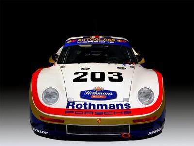 Porsche 961 '1986 Le Mans. Фото Porsche