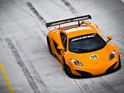 McLaren MP4-12C GT3. Фото McLaren Automotive