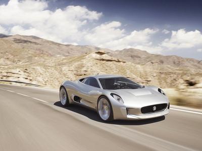 Jaguar C-X75 Concept. Фото Jaguar