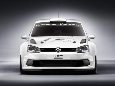 Volkswagen Polo R WRC. Фото Volkswagen