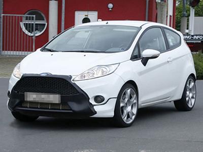 Прототип новой Ford Fiesta ST. Фото с сайта autoexpress.co.uk