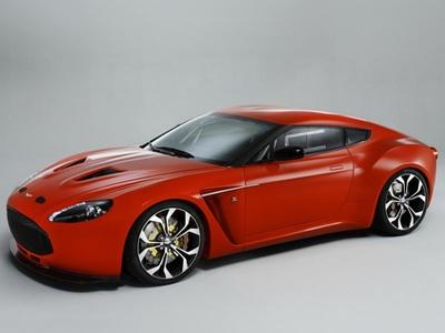 Aston Martin V12 Zagato. Иллюстрация Astn Martin