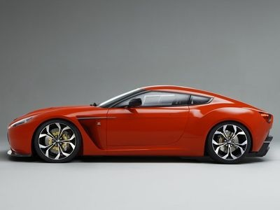Aston Martin V12 Zagato. Фото Aston Martin