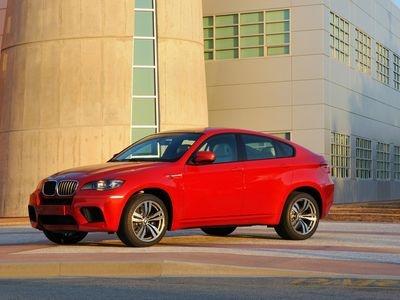 BMW X6 M. Фото BMW