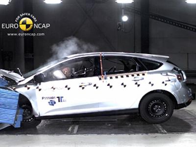Краш-тест Ford Focus. Фото Euro NCAP