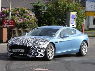 Обноыленный Aston Martin Rapide. Фото с сайта worldcarfans.com