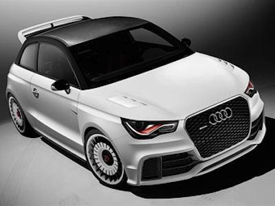 Audi A1 clubsport quattro. Фото Audi