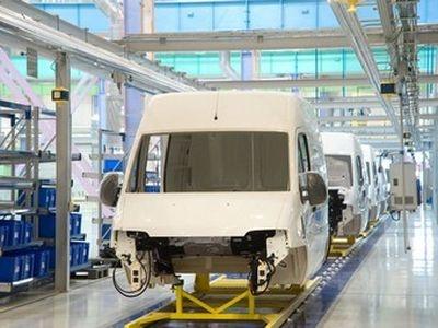Производство Fiat Ducato на заводе Sollers-Елабуга. Фото Sollers