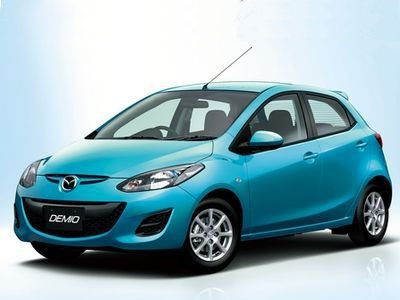Mazda Demio. Фото Mazda