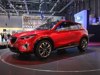 Mazda Minagi Concept. Фото Ленты.ру и компании Mazda
