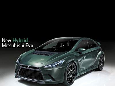 Mitsubishi Lancer Evo. Иллюстрация с сайта roadandtrack.com