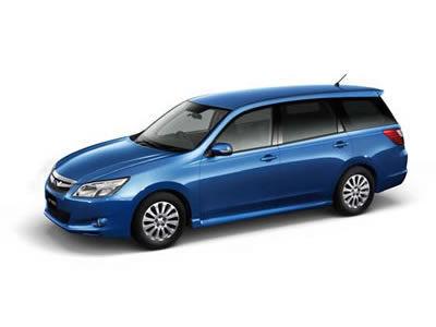 Subaru Exiga. Иллюстрация Subaru