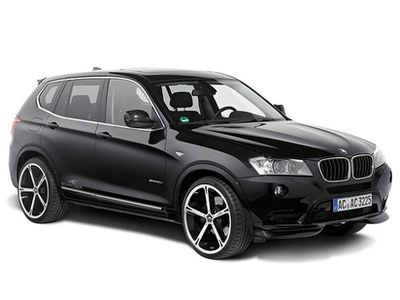 BMW X3 от Schnitzer. Фото AC Schnitzer