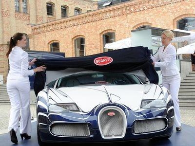 Bugatti Veyron Grand Sport L'Or Blanc. Фото Bugatti