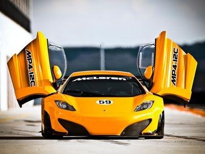 McLaren MP4-12C GT3. Фото McLaren