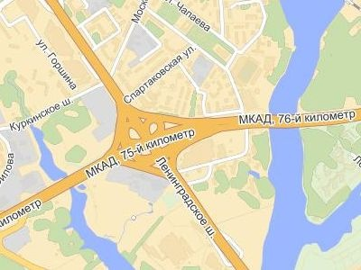 Скриншот с maps.yandex.ru