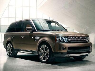 Обновленный Range Rover Sport. Фото Land Rover