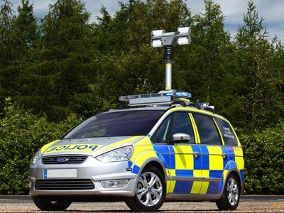 Ford Galaxy британской полиции. Фото Ford