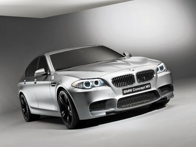 BMW M5 Concept. Фото Сергея Знаемского и компании BMW с сайта autoreview.ru