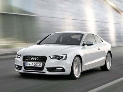 Audi A5. Фото Audi