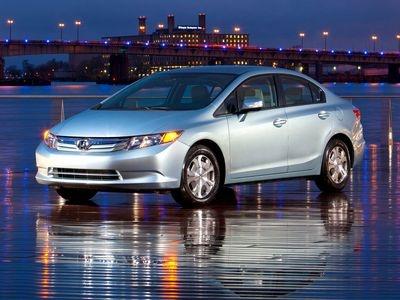 Honda Civic Hybrid. Фото Honda