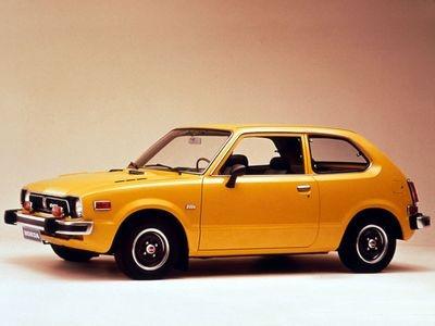 Honda Civic 1972. Фото Honda