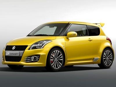 Suzuki Swift S Concept. Фото Suzuki
