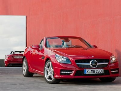 Mercedes-Benz SLK. Фото Mercedes-Benz