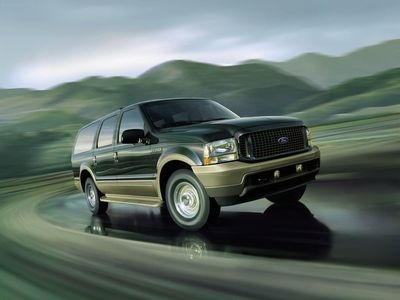 Ford Excursion. Фото Ford