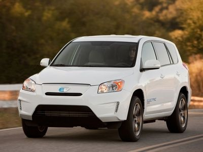 Toyota RAV4 EV Concept. Фото Toyota