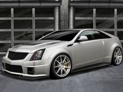 Hennessey Twin Turbo V1000 CTS-V Coupe. Фото Hennessey