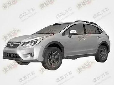 Новая Subaru Impreza XV. Фото с сайта chinacartimes.com