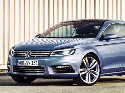 Volkswagen Passat Coupe. Иллюстрация с сайта autobild.de