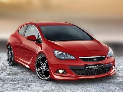 Opel Astra GTC от Irmscher. Фото Irmscher