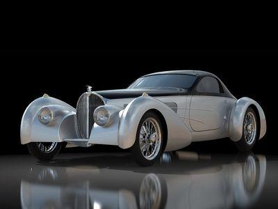 Delahaye Bella Figura Type 57S Coupe. Иллюстрация Delahaye USA