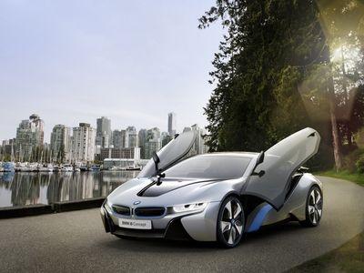 BMW i8 Concept. Фото BMW