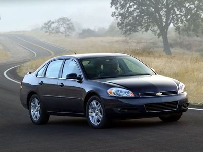 Chevrolet Impala. Фото Chevrolet