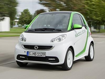 Новый Smart ForTwo ED. Фото Smart